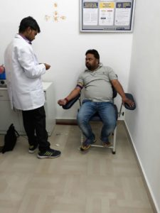 उरई में पैथकाइंड लैब द्वारा आयोजित किया गया निशुल्क जांच कैंप Soni News