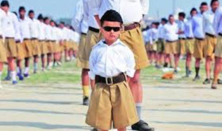 कालपी-राष्ट्रीय स्वयं सेवक संघ की कड़ी सुरक्षा के बीच निकला पंथ संचलन Soni News