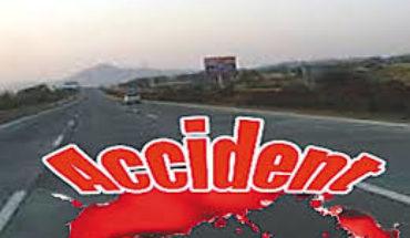 जालौन-उरई-जालौन मार्ग पर एक बार हुई दुर्घटना।दुर्घटना में प्रधान की मौत। Soni News