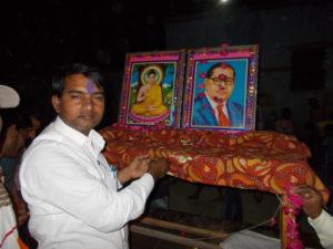 जालौन-ग्राम गायर में डॉ भीमराव अंबेडकर जी की जयंती मनाई गई। Soni News